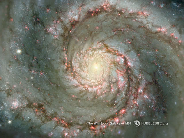 Galaxie tourbillon M51