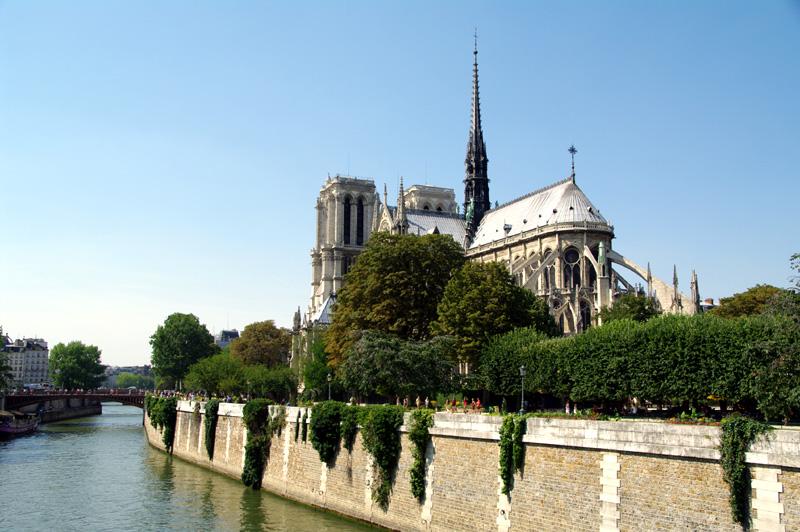 Photographie de la cathédrale Notre Dame de Paris
