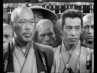 Extrait du film 'les 7 samourai' de Akira Kurosawa