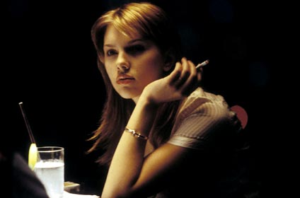 au restaurant, Scarlett Johansson, Lost in translation