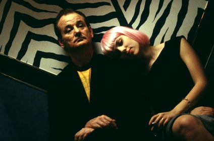 fin de soirée, Bill Murray & Scarlett Johansson, Lost in translation