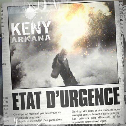 Etat d'urgence, le nouvel album de Keny Arkana