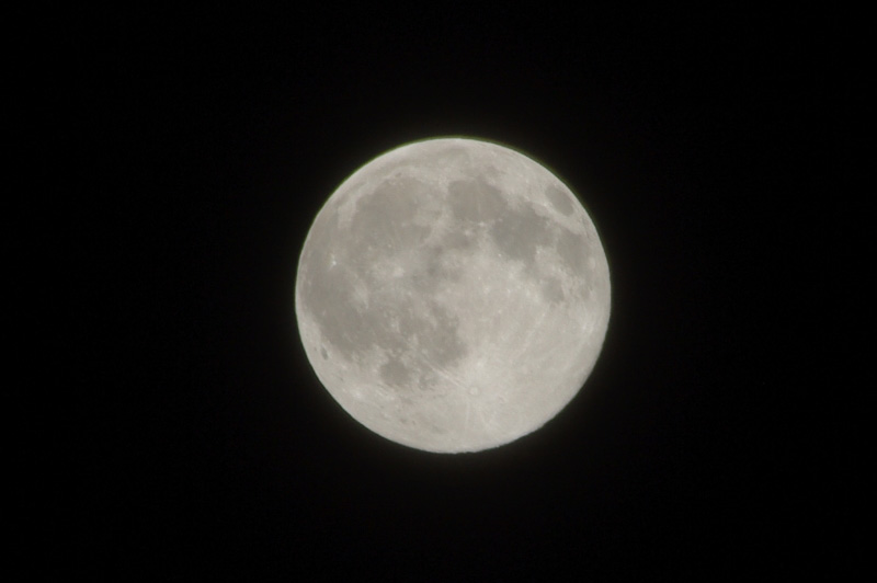Lune, détail