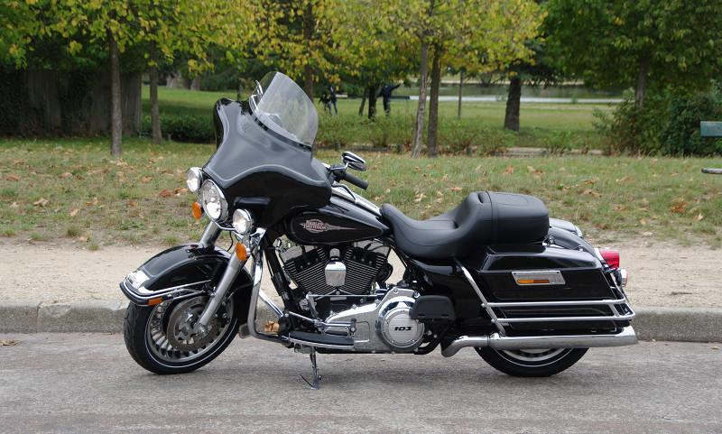 Photographie de mon Harley Davidson Electra Glide Classic