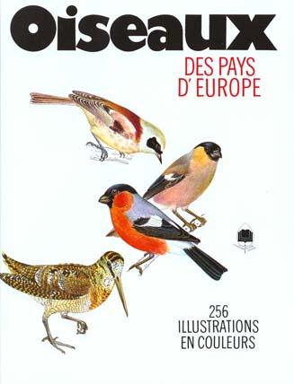"""Couverture du livre """"Oiseaux des pays d'europe"""""""