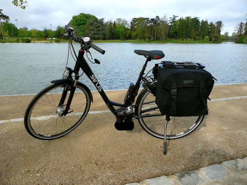 Mon nouveau vélo, un VAE Staiger Sinus B3
