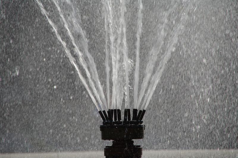 Photographie d'une fontaine