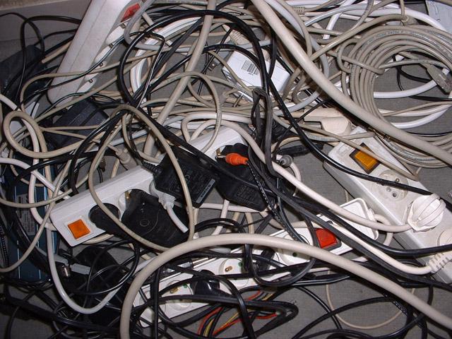 Labyrinthe de cables